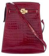 Hermes Crocodile So Kelly 20
