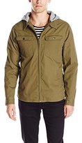 Brixton Men's Canton Removable Hood Utility Water Resistant Standard Fit Jacket