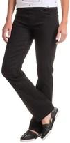 Liverpool Jeans Company Straight Leg Jeans - Elastic Waist (For Women)