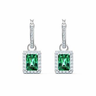 Swarovski Women's Angelic Hoop Pierced Earrings