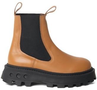 Simon Miller Scrambler Lug-Sole Leather Chelsea Boots