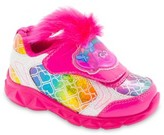 Dreamworks Trolls Lighted Athletic Sneakers with Faux Hair (Toddler Girls)