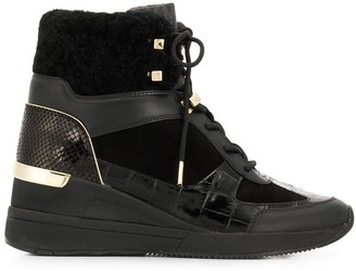 MICHAEL Michael Kors Heeled Hi-Top Sneakers