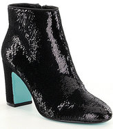 Betsey Johnson Blue by Blair Sequin Booties