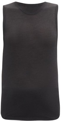 Frances De Lourdes - Max Cashmere Blend Tank Top - Womens - Black