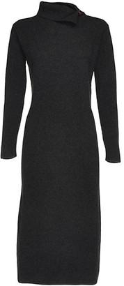 Fabiana Filippi Rib-Knit Midi Dress