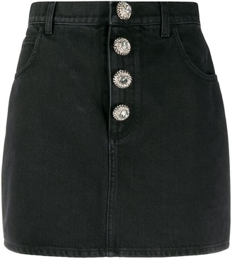 Alessandra Rich High Waisted Short Skirt