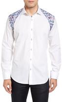 Bogosse Zack 61 Jacquard Inset Sport Shirt