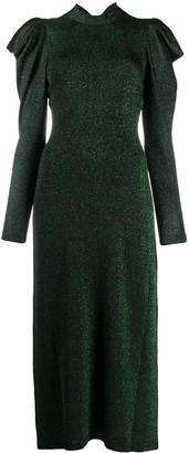 Temperley London Kenny glitter-knit dress