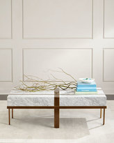 John-Richard Collection Gabrianna Marble Coffee Table