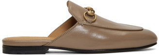 Gucci Beige Princetown Loafers