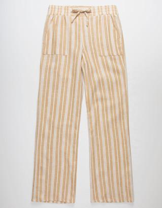White Fawn Beach Stripe Girls Pants