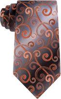 Van Heusen Shadow Swirly Vine Tie