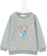 Simple Goofy print sweatshirt - kids - Cotton/Polyester - 2 yrs