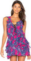 Tanya Taylor Mikaela Top in Fuchsia. - size 0 (also in 2,4)