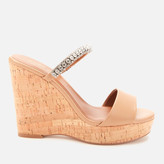 Kurt Geiger London Women's Alexia Leather Wedged Sandals