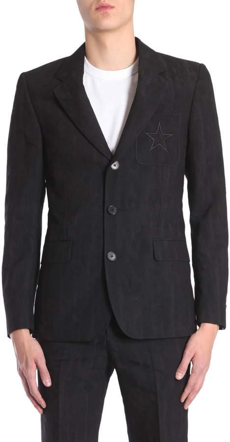 Givenchy Devorè Printed Classic Jacket