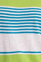 Caslon Slub Wedge Tee Taylor Ivory/ Pink Stripe Medium