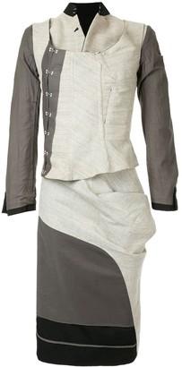 Comme Des Garçons Pre Owned Layered Skirt Suit