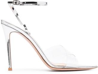 Gianvito Rossi Metallic Strappy Sandals