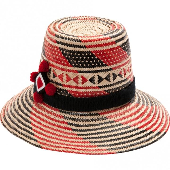 Yosuzi Multicolour Wicker Hats