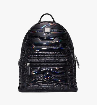 MCM Stark Backpack in Tec-Quilt Fabric
