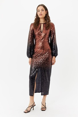 Coast Ombre Sequin Maxi Dress
