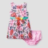 Cat & Jack Baby Girls' A line dresses Cat & Jack - Peppermint Stick