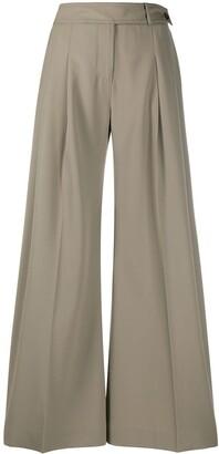 Victoria Victoria Beckham High-Rise Wide Leg Trousers