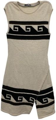 Isabel Marant Ecru Wool Dresses