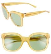 Tory Burch Women's 54Mm Cat Eye Sunglasses - Orange Yellow