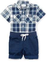 Ralph Lauren Plaid Shirt & Short Set