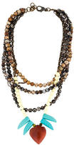 Dannijo Levi Bead Strand Necklace