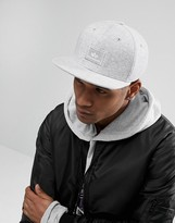 Alpha Industries Small Logo Snapback In Grey