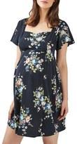 Topshop Women's Floral Maternity Tea Dress