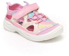 Osh Kosh Little Girl's Selene Bump Toe Sneaker