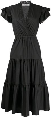 Philosophy di Lorenzo Serafini sleeveless A-line belted dress