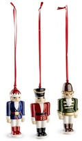 Villeroy & Boch Nutcracker Ornaments, Set of 3