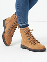Marks and Spencer Suede Lace Up Hiker Ankle Boots