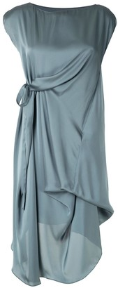 Uma Raquel Davidowicz Romulu draped dress
