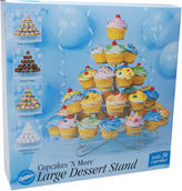JCPenney Wilton Brands Cupcakes 'N More Large Dessert Stand-Holds 38 Cupcakes