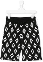 Marcelo Burlon County Of Milan Kids logo print shorts