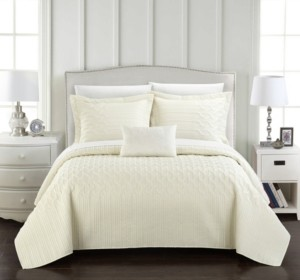 Chic Home Shalya 6 Pc Twin Xl Quilt Set Bedding