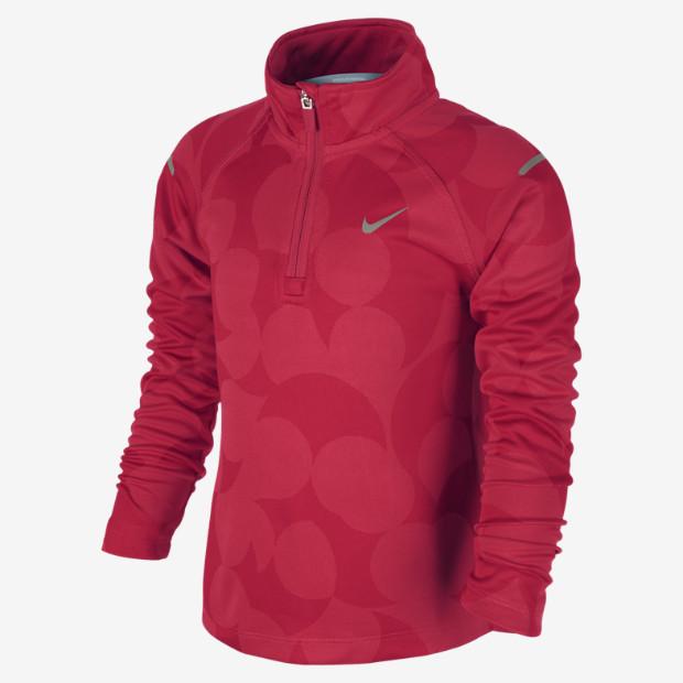 Nike Element Jacquard Half-Zip Pre-School Girls' Running Top