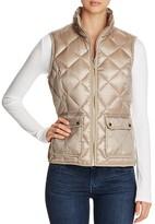 Calvin Klein Quilted Metallic Puffer Vest - 100% Bloomingdale's Exclusive