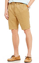 Roundtree & Yorke Casuals Big & Tall Double-Pleat Washed Twill Shorts
