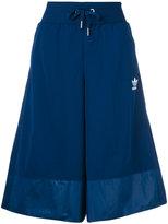 adidas wide leg culotte shorts