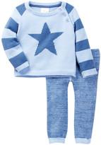 Cuddl Duds Star Raglan Sweater & Cuddl Pant 2-Piece Set (Baby Boys)