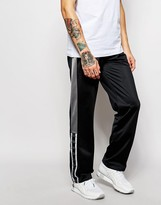 Kappa Skinny Joggers With Side Zips