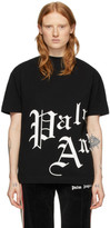 Palm Angels Black Side New Gothic T-Shirt